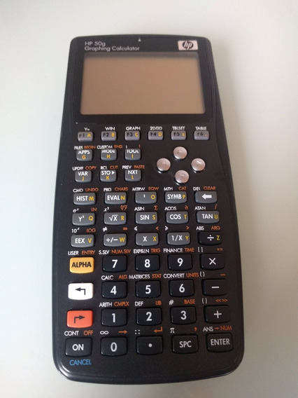 Calculadora Hp 50g Semi Nova - Graphing Calculator