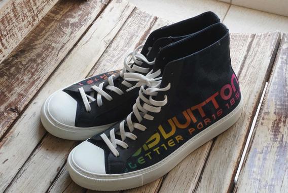 Sneaker Arco-íris Louis Vuitton