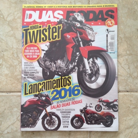 Revista Duas Rodas 481 Out2015 Honda Twister Cb 300r Harley