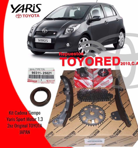 Kit De Tiempo Para Toyota Yaris 2006 2007 2008 2009