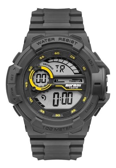 Relógio Masculino Mormaii Digital Wave Cinza Mo3660aa/8c