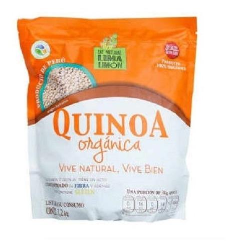Imagen 1 de 2 de Quinoa Blanca Lima Limón Orgánica 1.2 Kg