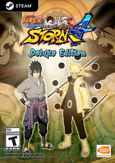 Naruto Shippuden Ultimate Ninja Storm 4 + 2 Jogos Pc - Dvd
