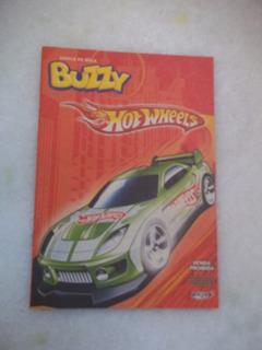 Poster Álbum Buzzy Hot Wheels Vazio Ótimo Estado