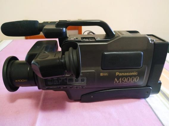 Filmadora Panasonic M9000 Funcionando