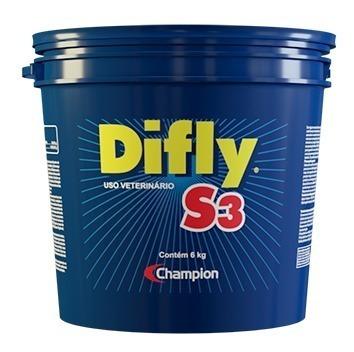 Imagem 1 de 5 de Difly S3 6 Kg - Champion Saúde Animal, Controle Do Carrapato