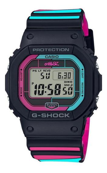 Reloj Casio Gshock X Gorillaz Para Caballero-gw-b5600gz-1cr