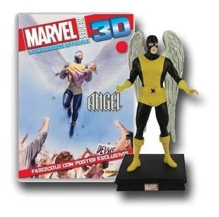 Marvel 3d Figuras De Coleccion Salvat N° 38 Angel