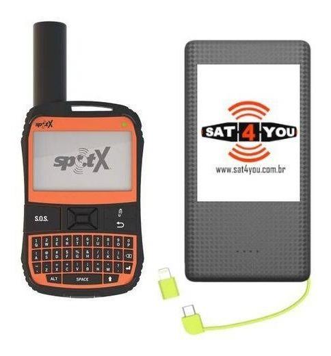 Spot X Comunicador Satelital E Ganhe Power Bank De 10.000mah