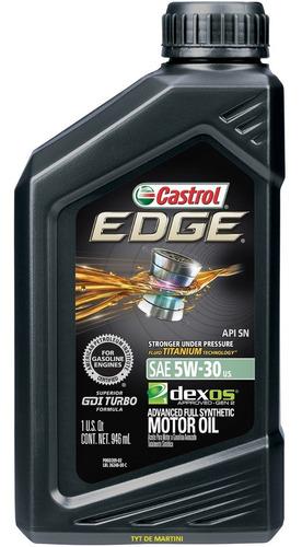 Imagen 1 de 3 de Castrol Edge 5w30 -1lto Titanio Liquido Usa - Tyt