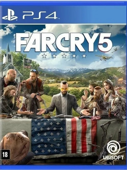 Far Cry 5 Ps4- Farcry 5 Ps4- Envio Rápido!