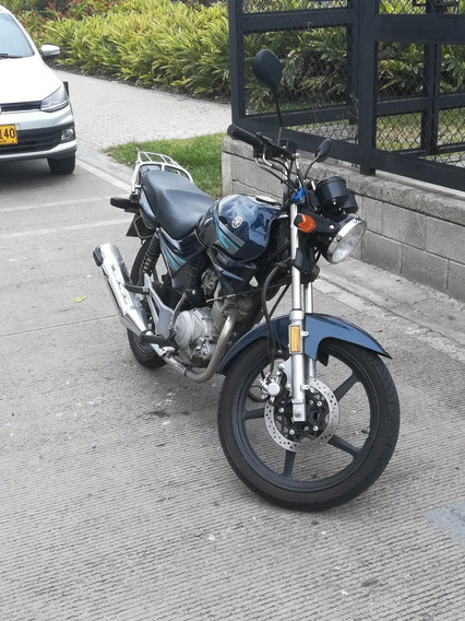 Yamaha 125 Color Azul Perlado