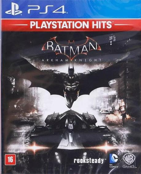 Batman Arkham Knight Ps4 Mídia Física Lacrado Pt Br