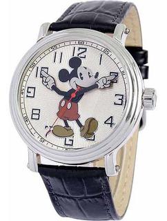Reloj Disney Mickey Mouse Para Hombre 56109 Con Correa