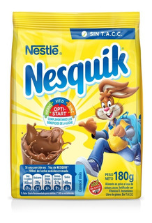 Nesquik Chocolate 180g Cacao En Polvo Bebida Achocolatada