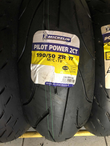 Imagem 1 de 1 de Pneu 190/50=17 Michelin Power 2 Ct