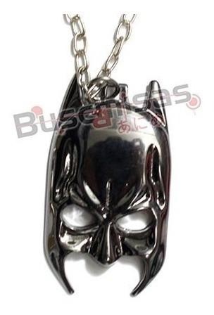 Colar Batman Mascara Cavaleiro Das Trevas Liga Da Justiça Dc