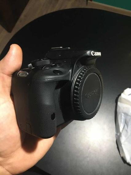 Câmera Cânon Sl1 +lente+sdcartão+bateria+bag+cdmanuais