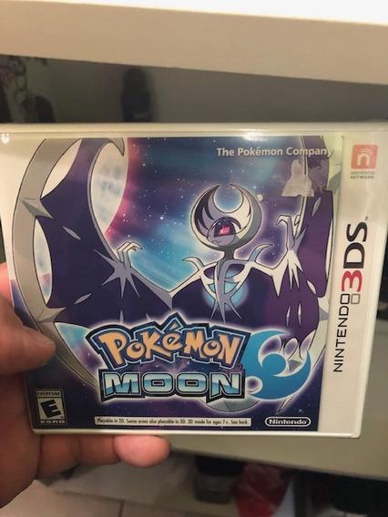 Pokémon Moon Nintendo 3ds Lacrado