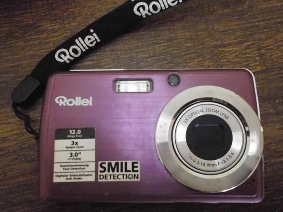 Máquina Fotográfica Digital Rollei 12 Mega Pixel