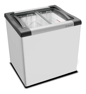 Freezer Horizontal Metalfrio Nf20 Tampa Vidro 180l Nf20l