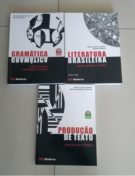 Coleção Maria Abaurre Gramática Literatura Produção De Texto