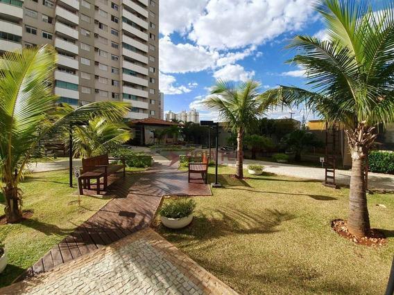 Apartamento 2 Quartos Com Suíte, Lazer Completo No Parque Amazonas - Ap0075