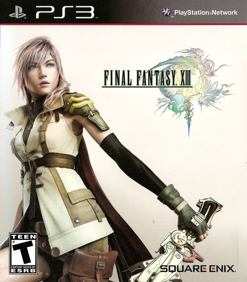 Final Fantasy Xiii - Ps3 Jogo Blu-ray Físico Usado Excelente