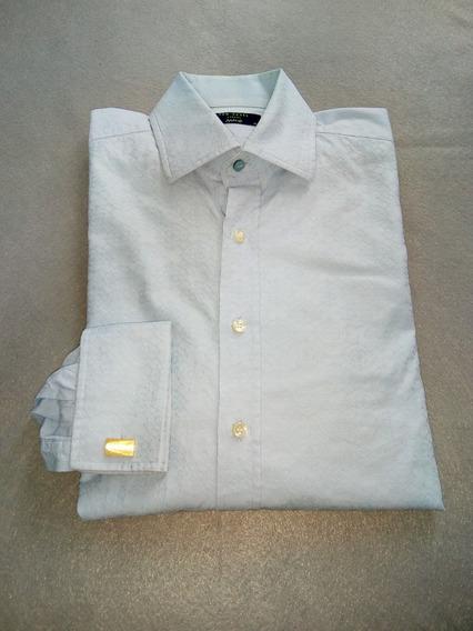 Camisa Ted Baker Puño Para Mancuernillas