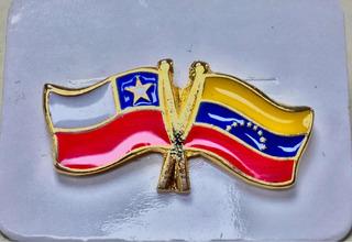 Pin Chile Y Venezuela