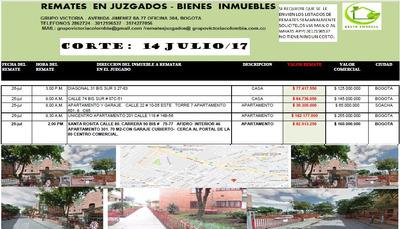 Remates Apartamentos Y Casas Bogota Remates En Juzgados