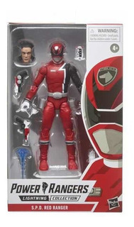 Spd Red Ranger Power Ranger Lightning Collection