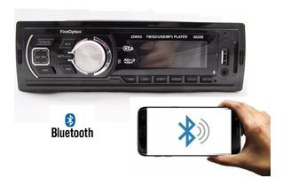 Som Automotivo Radio Mp3 Bluetooth Usb Sd Rca First Option
