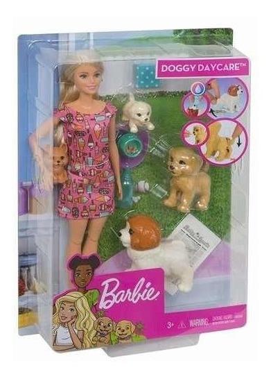 Barbie Treinadora De Cachorrinhos Fxh08 Mattel 2019