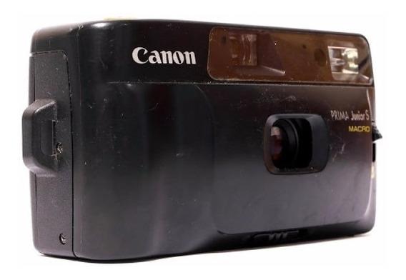 Camêra Fotográfica- Canon Prima Junior S Macro Colecionador