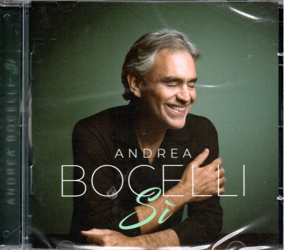 Cd Andrea Bocelli - Sí