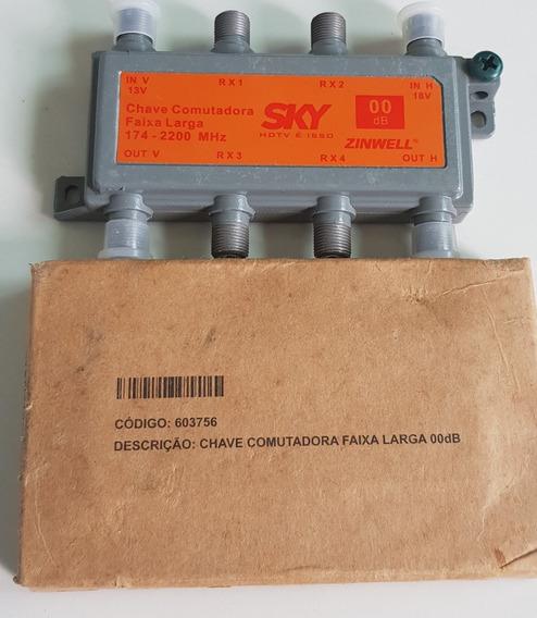 Kit 5 Chaves Comutadoras Multi-usuário Faixa Larga Smu 00db