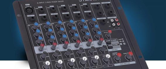 Mesa De Som Ll Audio Starmix 6 Canais