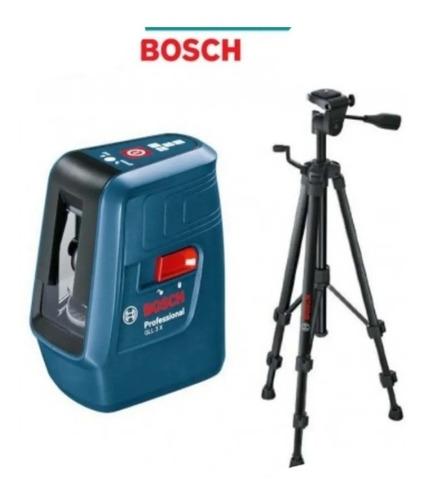 Imagen 1 de 3 de Nivel-escuadra Laser Autonivelante Bosch Nivelox C/tripode-