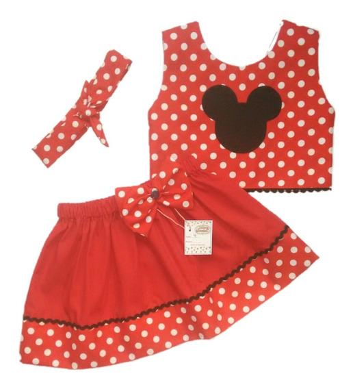 Vestidos De Niñas Con Motivo De Minnie