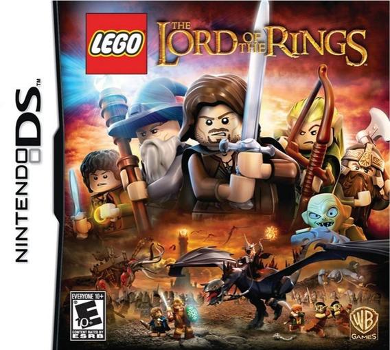 Jogo Portátil Nintendo Ds 3ds Lego Lord Of Rings Infantil