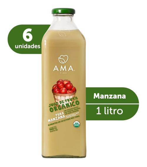 Ama Jugo Manzana Orgánico 6x1000cc