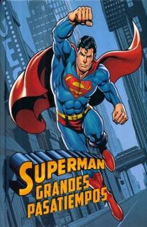 Superman Grandes Pasatiempos Libro Para Niños