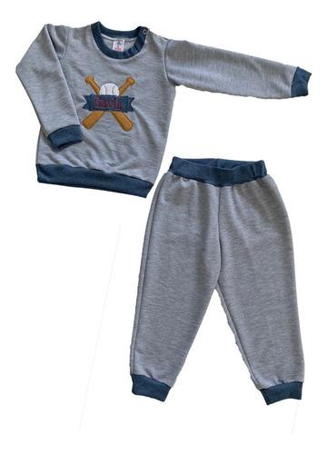 Sudadera Para Niño, Conjunto, Buso + Pantalón Talla 2 A 8t