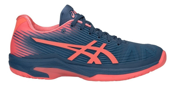Tenis Asics Solution Speed Ff Coral E Marinho