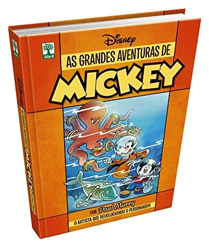 As Grandes Aventuras De Mickey! Capa Dura!