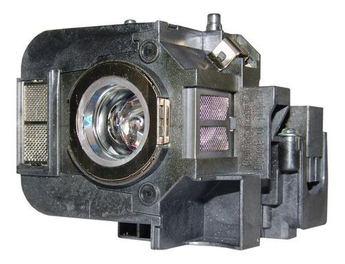 Lámpara Con Carcasa Para Epson Powerlite 84+ Proyector