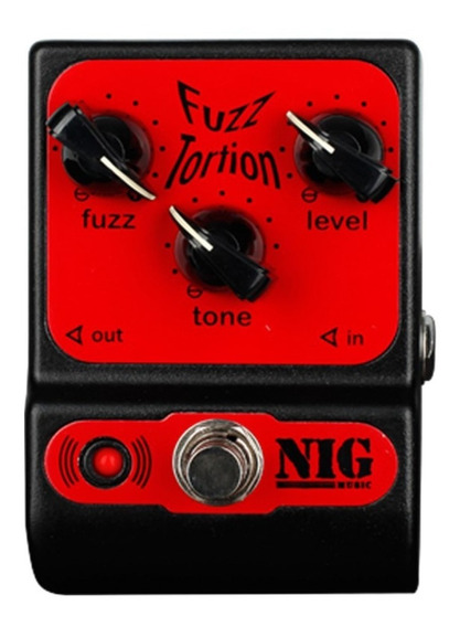 Pedal Nig Fuzz Tortion (fuzz+distortion)+brindes.promoção!!!