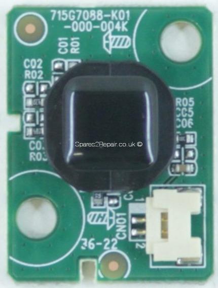 Botão Power Tv Philips 43pug6102/78 715g7088-k01-000-004k #2