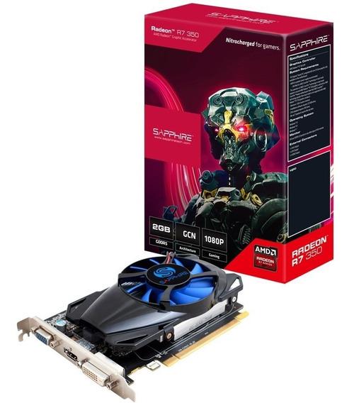 Placa Video Amd Ati Radeon Sapphire R7 350 2gb Ddr5 Envio